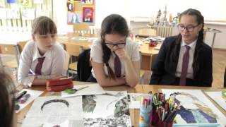 Уйсинбекова Г Н    Защита проектов на уроках искусства 2 часть