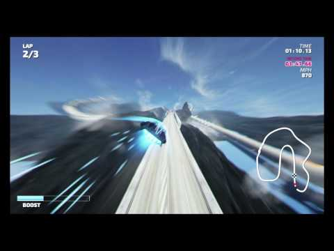 Fast RMX - Time Attack Mode - Iceland (Hypersonic) - 1:46.43