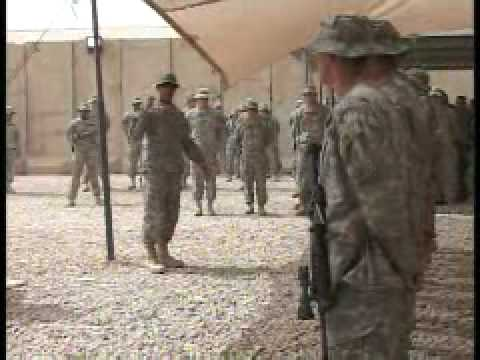 Combat Badge Award Ceremony, Part 1