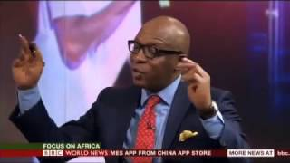 BASKETMOUTH On BBC World News