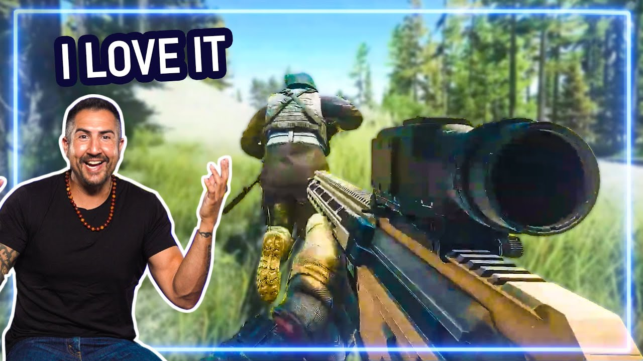 Sniper REACTS to Escape from Tarkov | Experts React