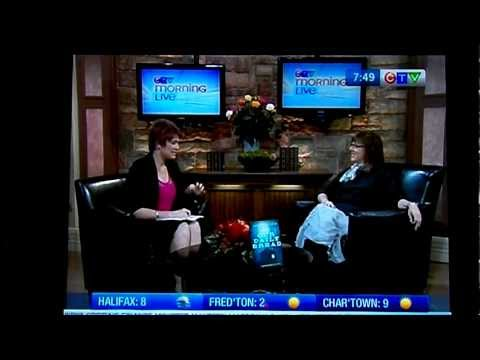 Lauren B. Davis interview on CTV Halifax Morning Show with host Heidi Petracek