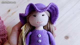 Амигуруми: схема Куколка Алиса. Игрушки вязаные крючком - Free crochet patterns.