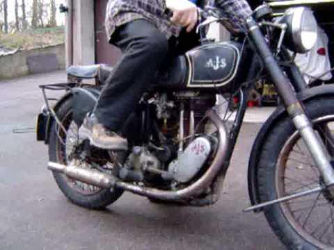 AJS 350cc 1947