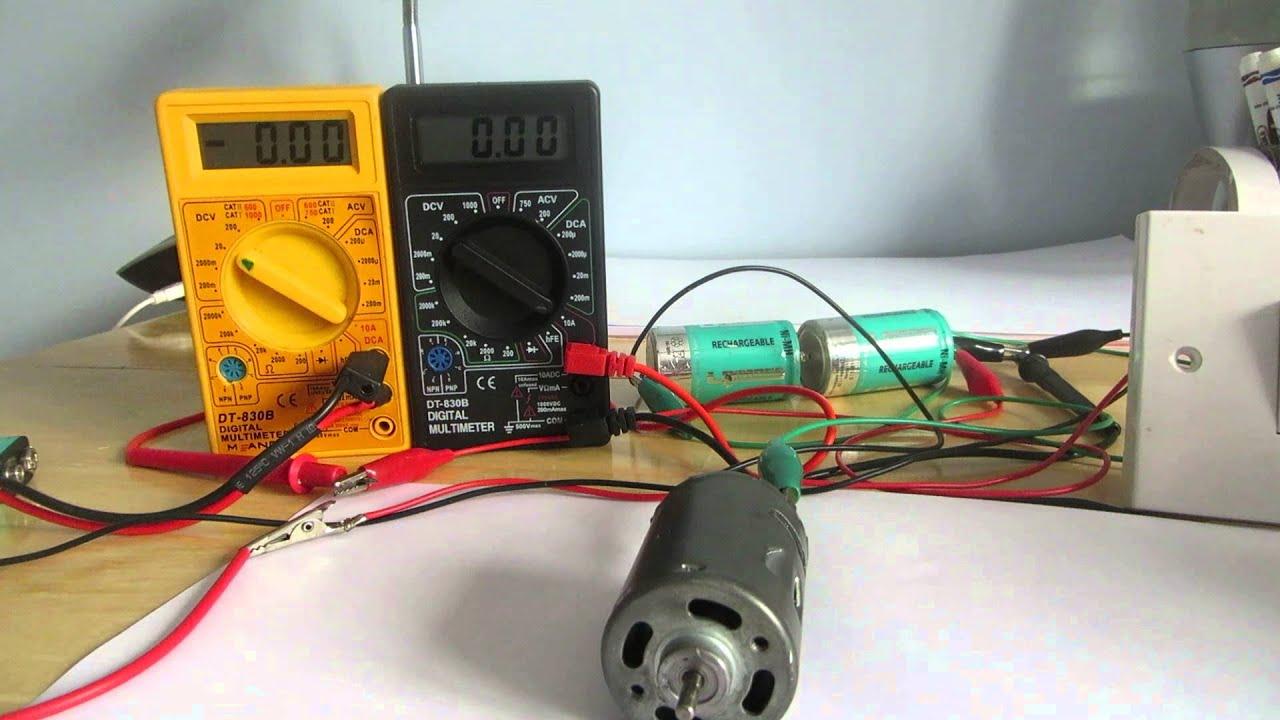 how to make 12 v dc motor quieter