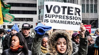 Republicans are ramping up their efforts to suppress the vote by having cities and states shut down polling stations.