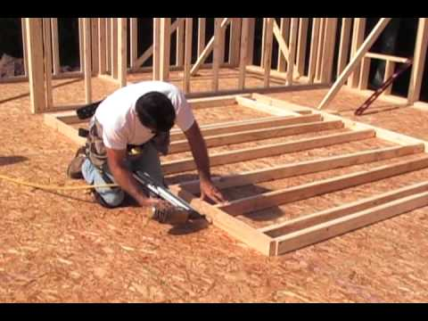 Framing And Building A Wall Youtube