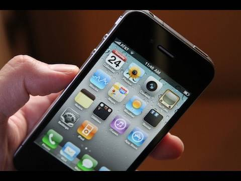 32GB IPhone 4 Unboxing Black Hands On