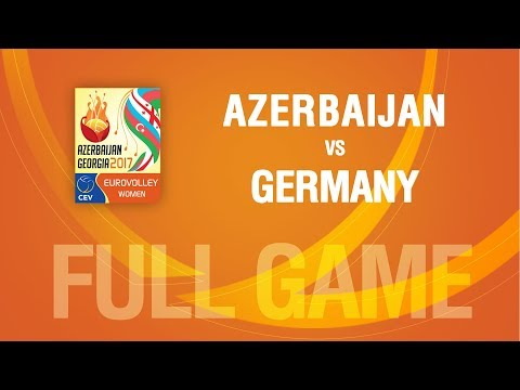 Azerbaijan vs Germany | QUARTERFINALS | EUROVOLLEY AZERBAIJA