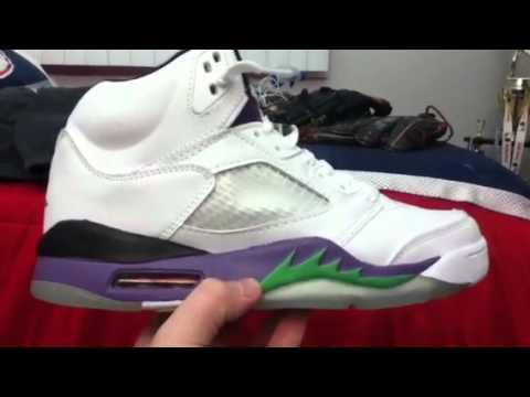 6161f6b6e9e Fake Jordan 5 grape airjordanclub