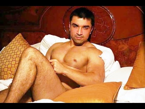 Former Bigg Boss contestant Ajaz Khan removes his clothes for photo shoot