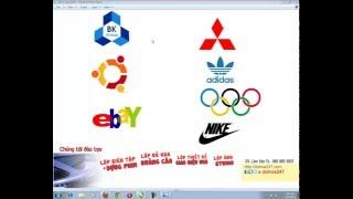 Học Corel   Vẽ logo bằng Corel   Học Thiết kế đồ họa