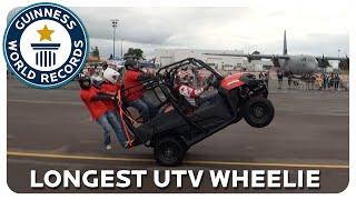Longest UTV Wheelie – Guinness World Records