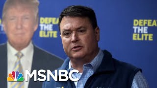 Indiana Senate GOP Candidate Stirs Endorsement Drama With Missing Apostrophe | MTP Daily | MSNBC