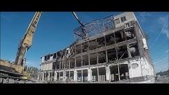 ROUBAIX/WATTRELOS, Démolition des derniers vestiges de la Lainière