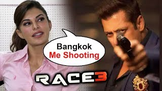 Jacqueline Fernandez On RACE 3 Shooting In Bangkok With Salman Khan