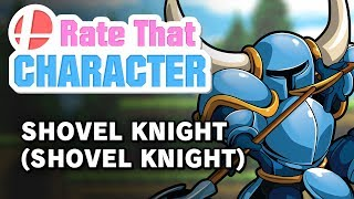 Shovel Knight - Rate That Character