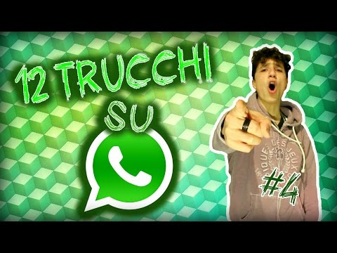 12 TRUCCHI Su WhatsApp! // NewsDalTubo