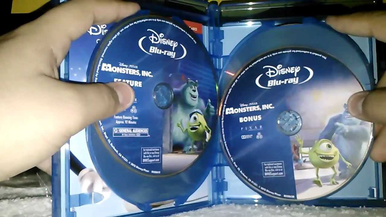 To acquire Monsters inc blu ray picture trends