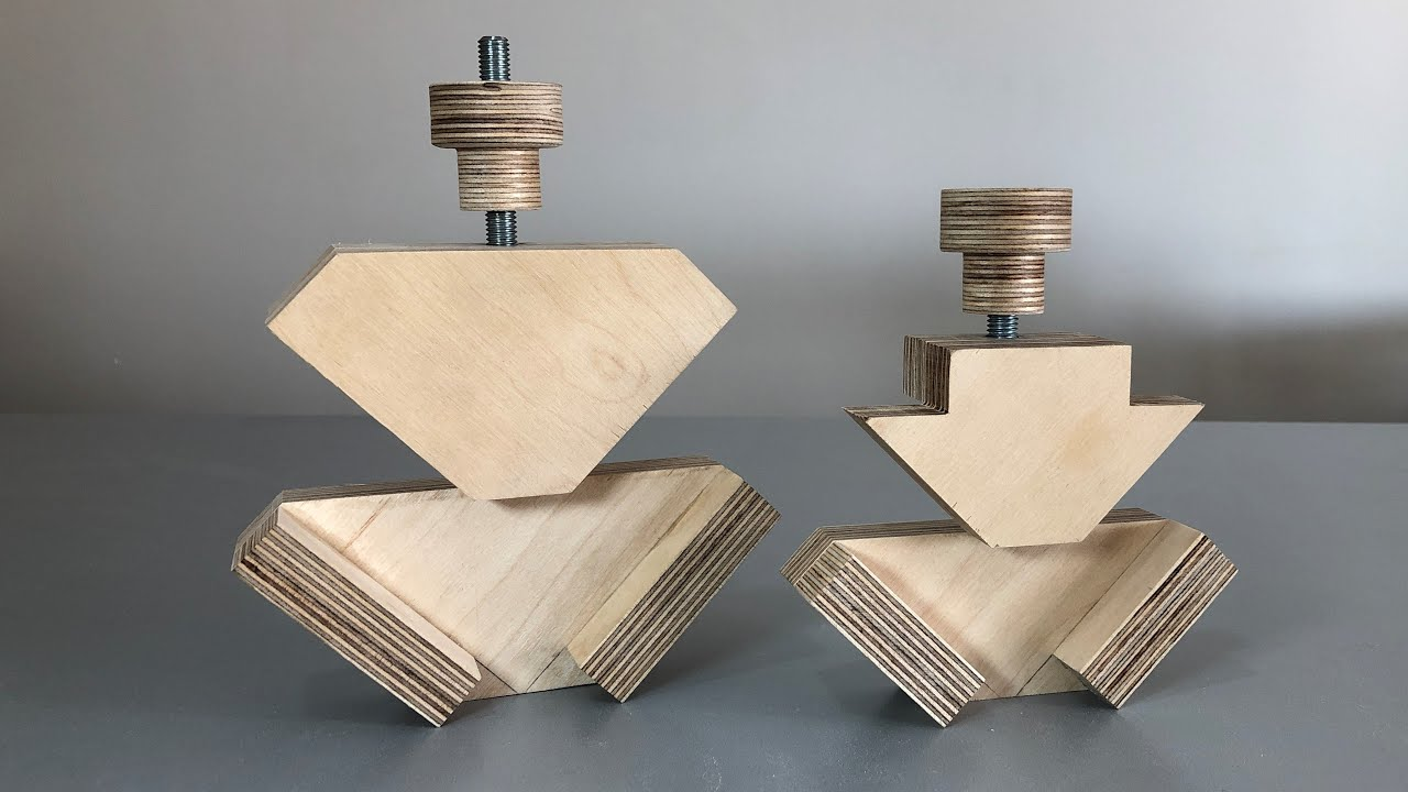 Making a Corner Clamp 🛠 Cheap & Easy to Make // Köşe Mengenesi Yapımı