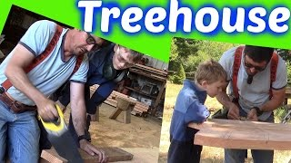 How To Timber Framed Treehouse | 36