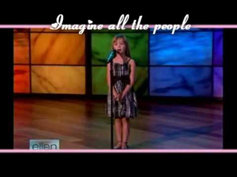 Connie Talbot// Imagine [With Lyrics]