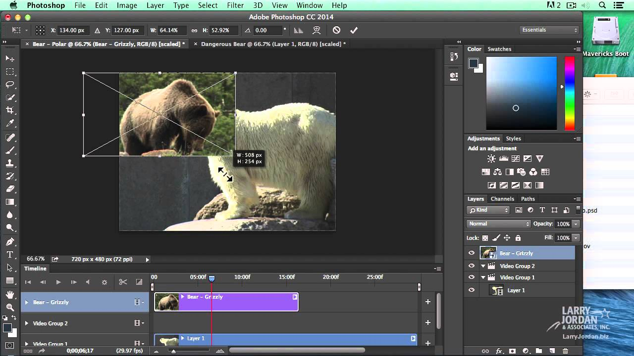 Download Learn To Edit Video in Photoshop