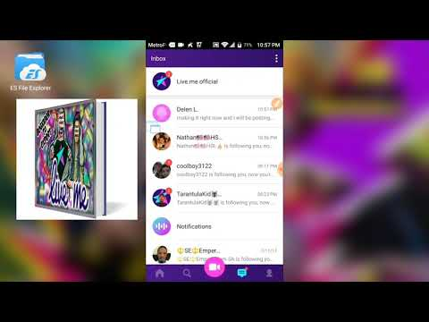 LiveMe Beginnings How To Live Broadcast On Live.me With Mobile Android Phone For Gaming Game Play +