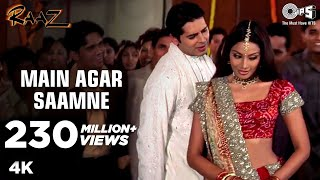Download Mp3 Main Agar Saamne Full Video - Raaz | Dino Moreo & Bipasha Basu | Abhijeet &a