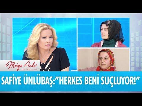 """Safiye Ünlübaş:""""Herkes beni suçluyor"""" - Müge Anlı İle Tatlı Sert 19 Şubat 2018"""