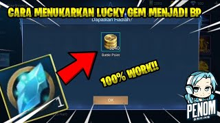 Cara Tuker Lucky Gem Fragment Menjadi Battle Point | Mobile Legends