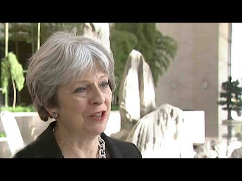 Exclusive Interview with Theresa May of China-UK relationships