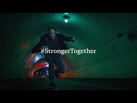 """""""It all starts with a push"""" Tony Hawk   #StrongerTogether"""