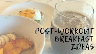 3 POST-WORKOUT PROTEIN BREAKFAST IDEAS (for WEIGHT LOSS) Target Shopping Edition! Easy & Cheap!