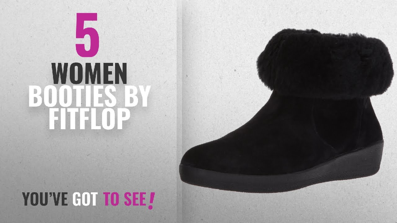 ce31b9d57 Top 10 Fitflop Women Booties  2018   FitFlop Women s Skatebootie ...