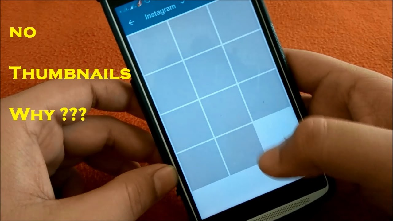Thumbnails not coming in gallery in android | Fix no ...