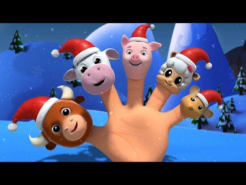 Papá Noel dedo familia | Navidad canciones para niños | Papá Noel canción | Santaclaus Finger Family