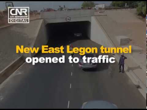 New East Legon tunnel  brings relief to commuters