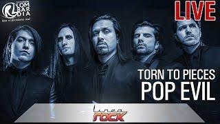 Pop Evil - Torn to Pieces - live @Linea Rock