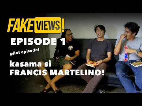 Fakeviews Ep1 special interview with Francis Martelino