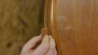 How To Remove Light Scratches From Wood Tables : Woodworking Tips