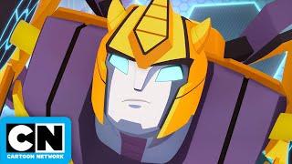 Transformers Cyberverse   Inside Bumblebee's Mind   Cartoon Network