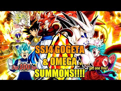 1000+ STONES LIVE MULTI SUMMONS!!!! SSJ4 GOGETA AND OMEGA!!!!! DBZ: DOKKAN BATTLE!!!