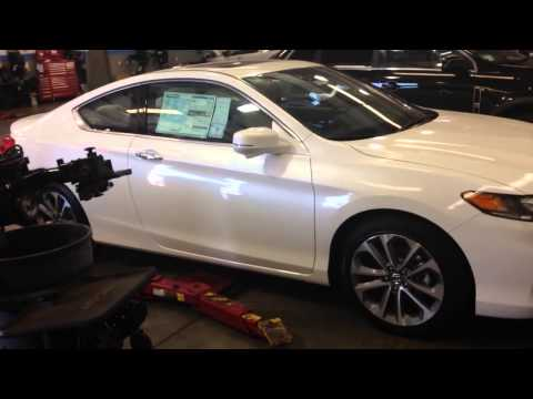 2014 Honda accord exl v6 coupe before hfp kit install