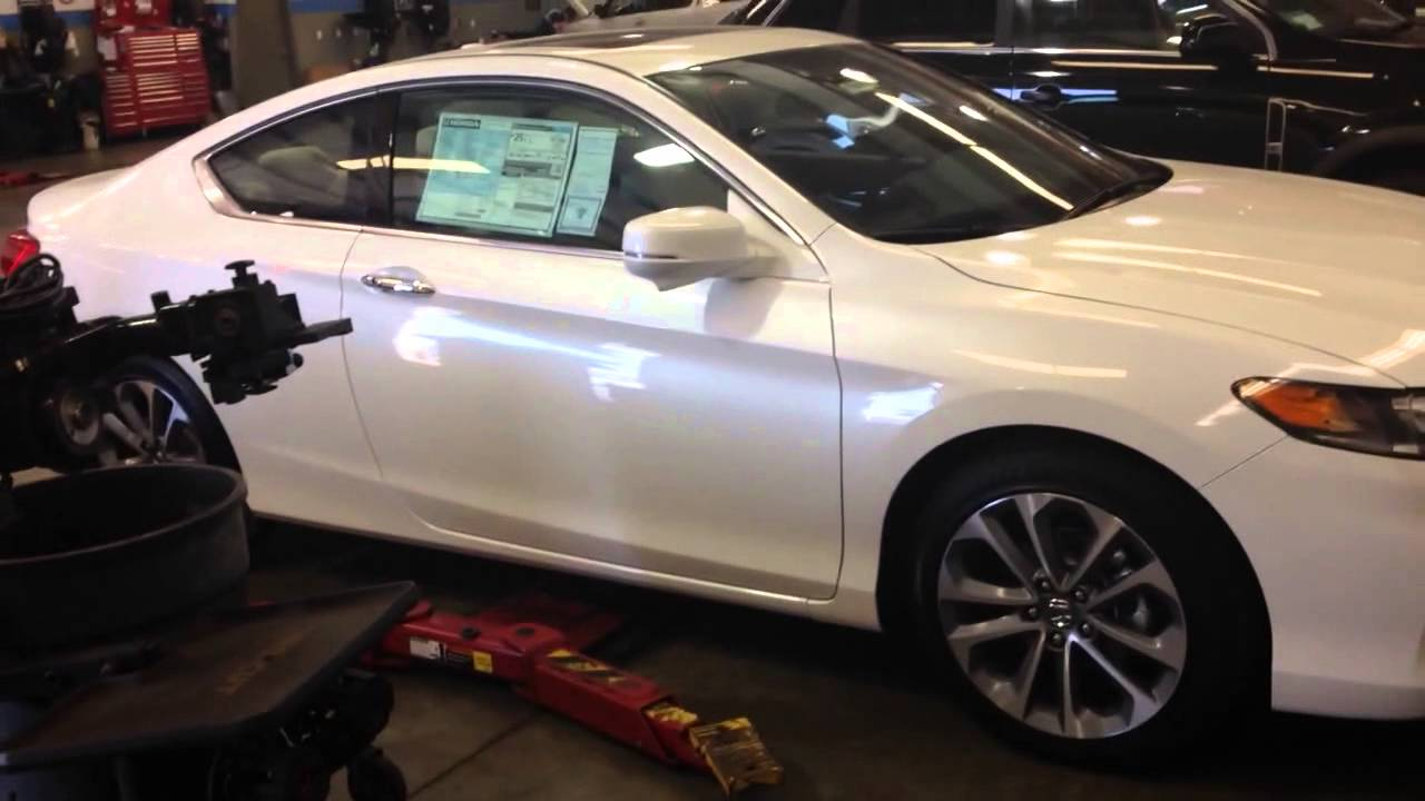 2014 Honda Accord Exl V6 Coupe Before Hfp Kit Install Youtube