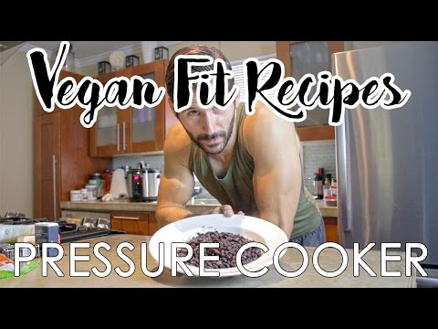 Pressure Cooker  |  Black Bean Recipe  |  How To Cook Black Beans  |  Vegan Protein Plant Based