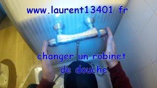 Changer un robinet de douche