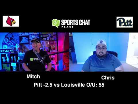 Louisville at Pitt - Saturday 9/26/20 - College Football Picks & Prediction | Sports Chat Place (skip to 58s)