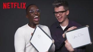 Sex Education Best Friends Challenge | Asa and Ncuti | Netflix