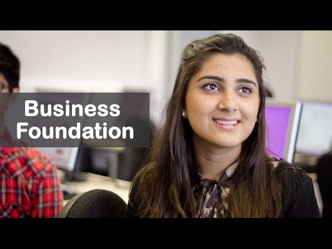 Study a foundation business course at University of Brighton International College